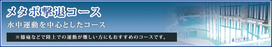「おすすめ入浴方法」メタボ撃退コース