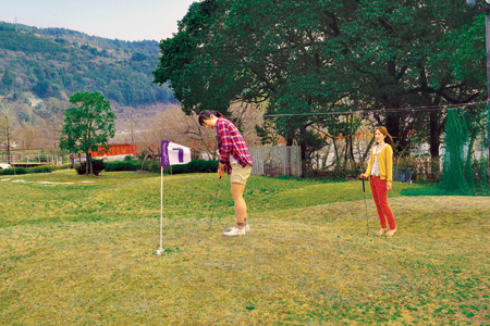 パターゴルフの写真