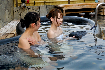 炭風呂の写真