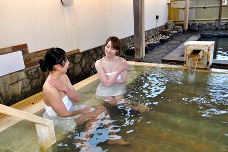 ひのき風呂の写真
