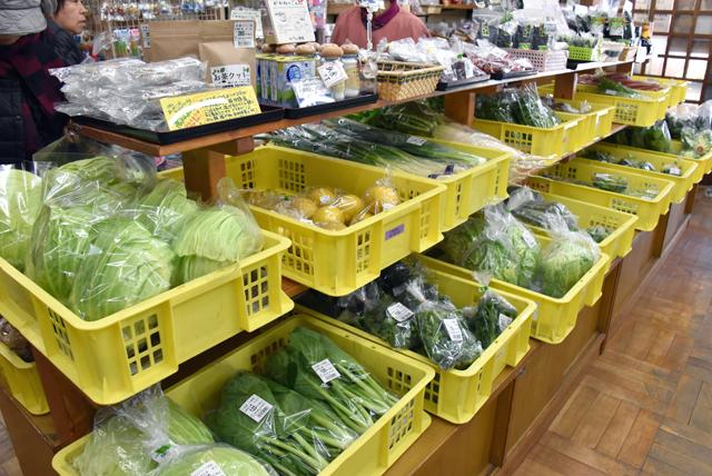 道の駅野菜の写真