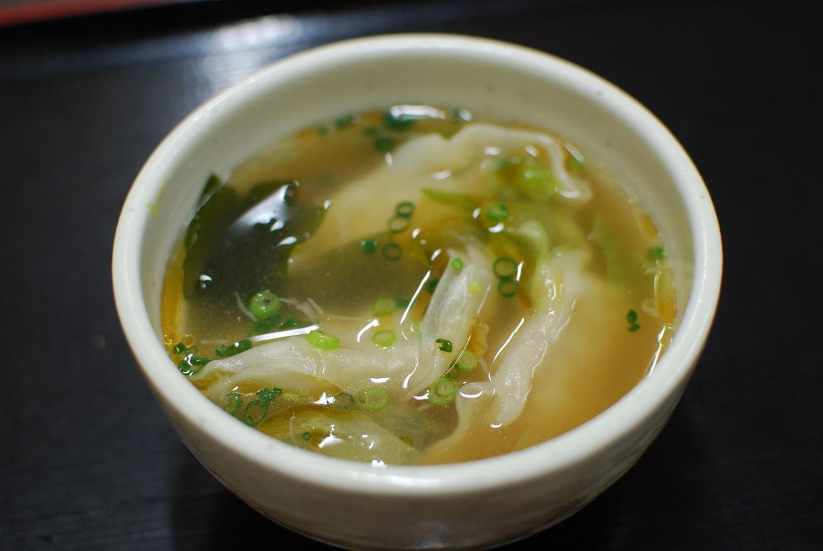 スープ餃子の写真
