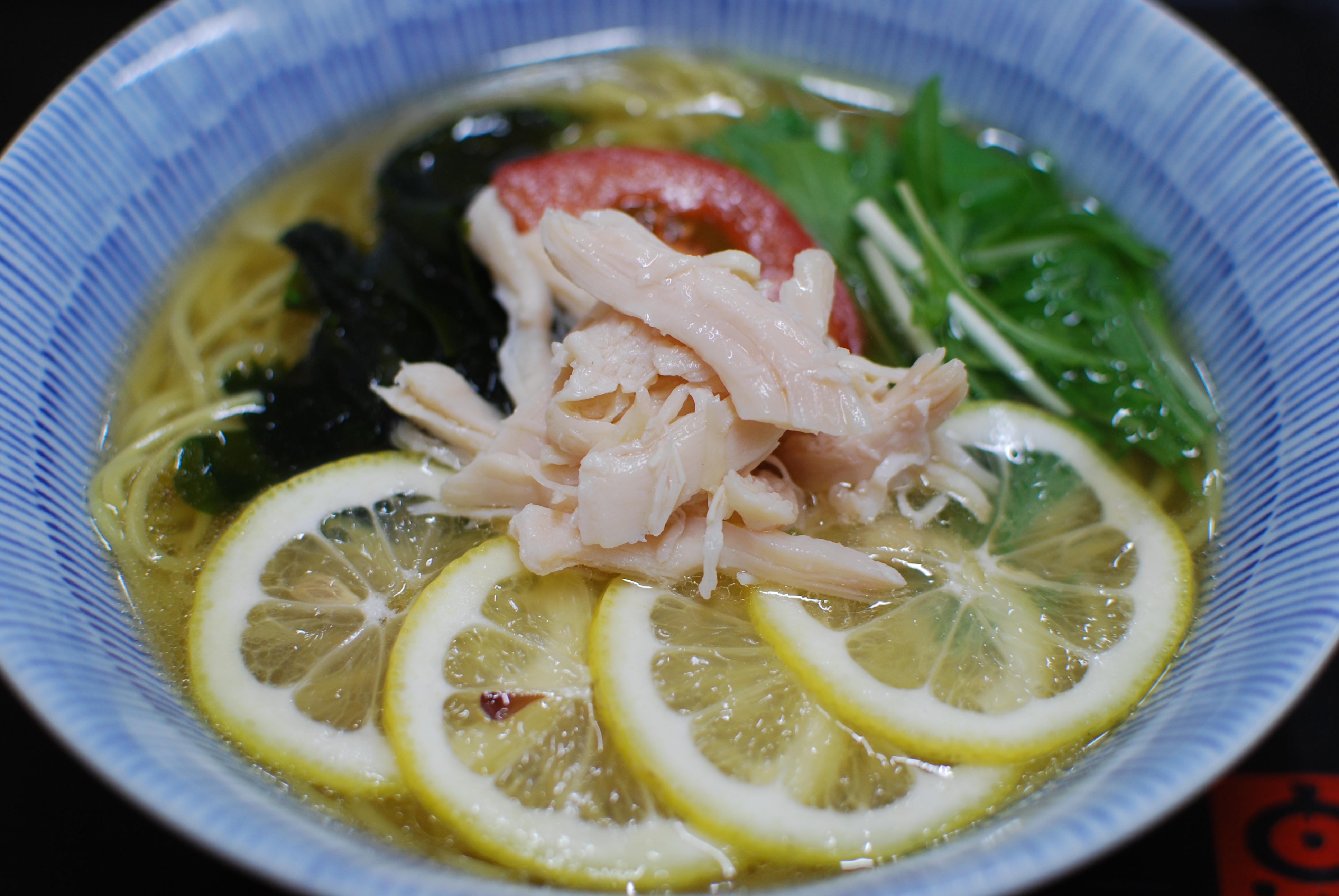 レモンラーメンの写真